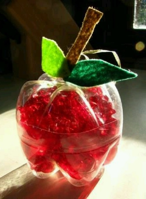 Pet Şişeden Elma Yapımı