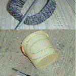 Plastikten Perde Mandalı Yapım