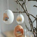 Yumurta Kabuğundan Dekoratif Süs Yapımı
