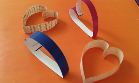Kağıttan Kalp Yapımı Videolu Anlatım