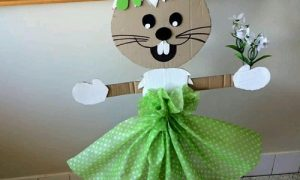 Kartondan Tavşan Yapımı