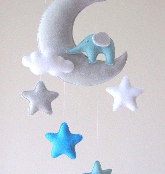 Bebek Odası için Keçe Süs Modelleri-1