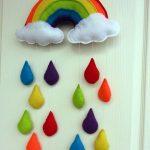 Bebek Odası için Keçe Süs Modelleri-5