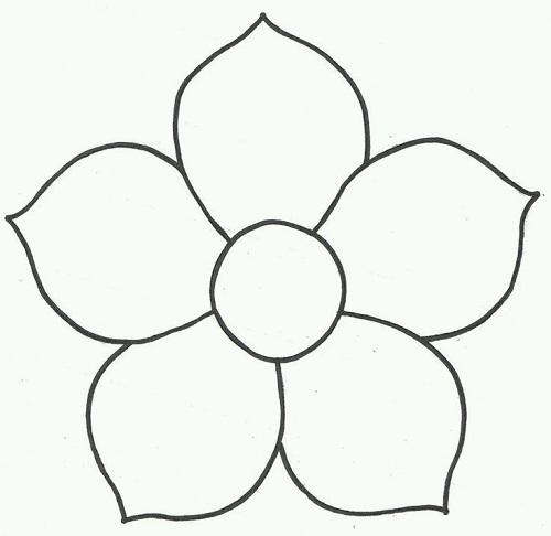 Çiçek Şablonları
