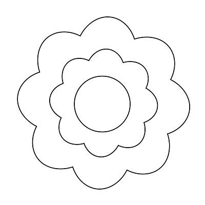 Çiçek Şablonu-10