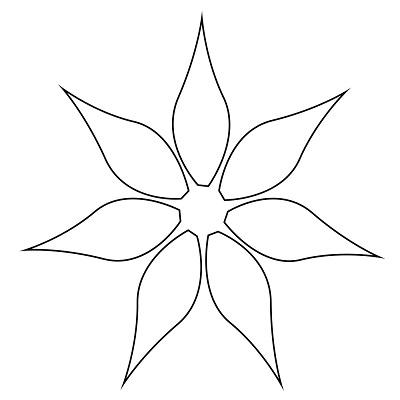 Çiçek Şablonu-11