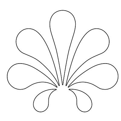 Çiçek Şablonu-13