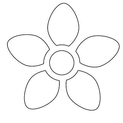 Çiçek Şablonu-14