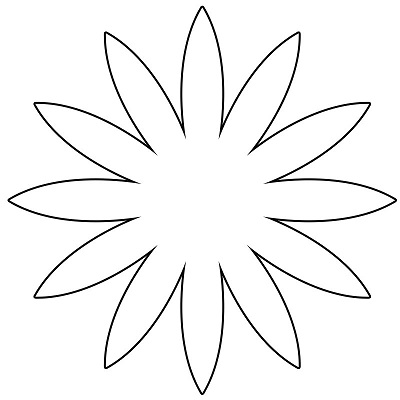 Çiçek Şablonu-2