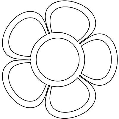 Çiçek Şablonu-21