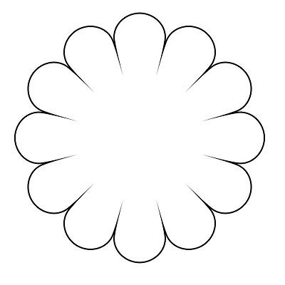Çiçek Şablonu-24