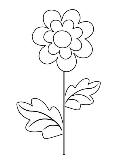Çiçek Şablonu-25