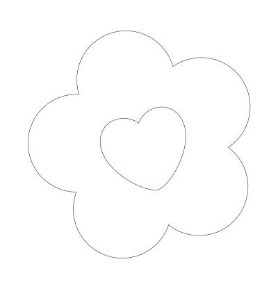 Çiçek Şablonu-27