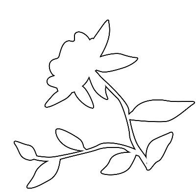 Çiçek Şablonu-28