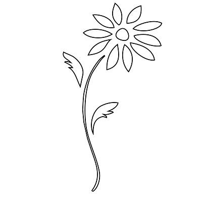 Çiçek Şablonu-30