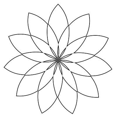 Çiçek Şablonu-7
