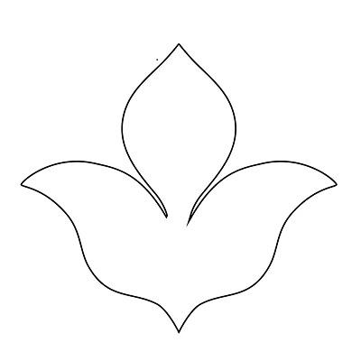 Çiçek Şablonu-8