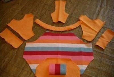 Çocuk Kıyafetinden Köpek Giysisi Yapımı