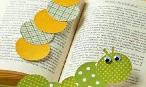 Çocuklar için Kolay Kitap Ayracı Yapımı