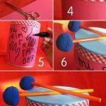 Çocuklar için Oyuncak Trampet Yapımı