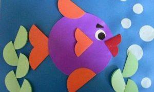 El İşi Kağıdından Balık Yapımı