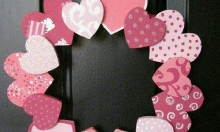 Keçeden Kalpli Kapı Süsü Yapımı