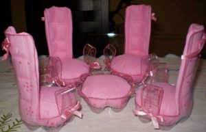 Pet Şişeden Masa Sandalye Yapımı