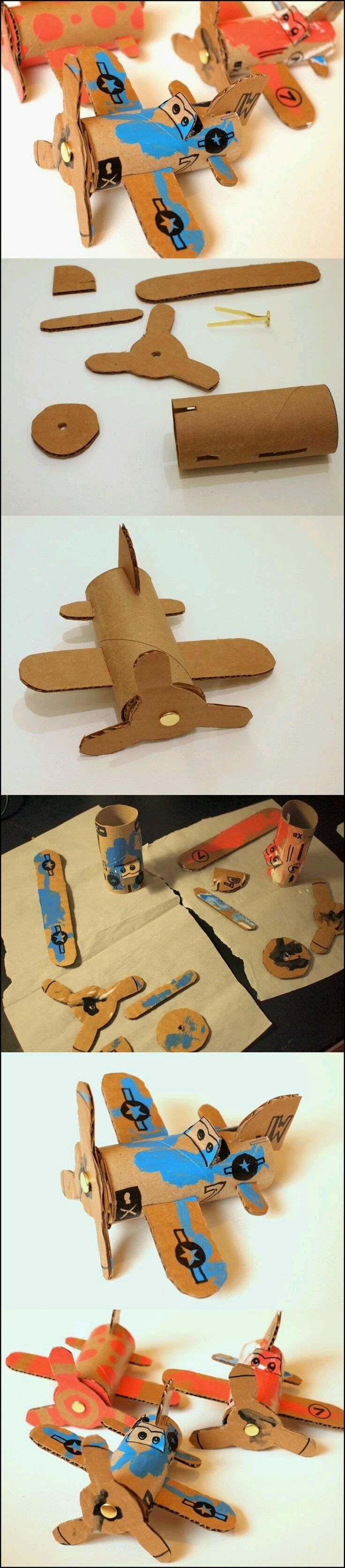 Tuvalet Kağıdı Rulosundan Helikopter Yapımı