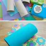 Tuvalet Kağıdı Rulosundan Nasıl Kelebek Yapılır