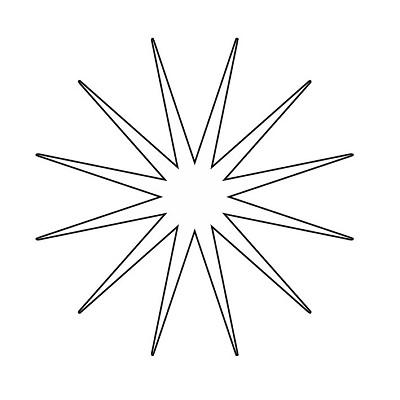 Yıldız Şablonu-16