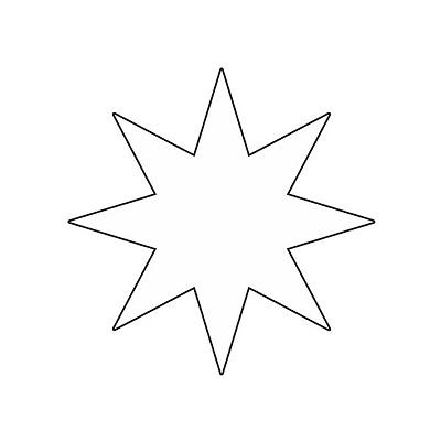 Yıldız Şablonu-4