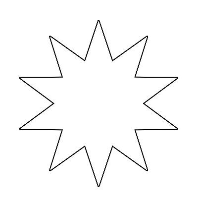 Yıldız Şablonu-9