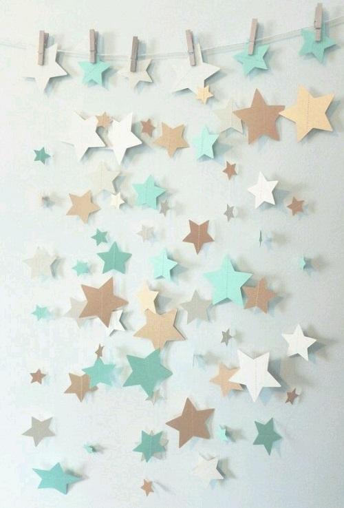 Yıldızlı Duvar Süsü Yapımı