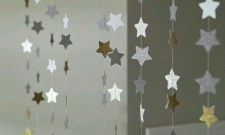 Yıldızlı Kapı Süsü Yapımı
