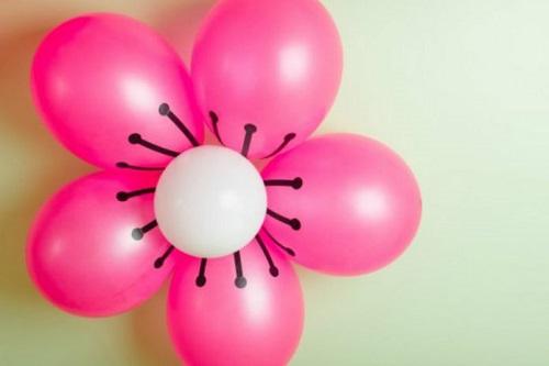 Balondan Nasıl Çiçek Yapılır