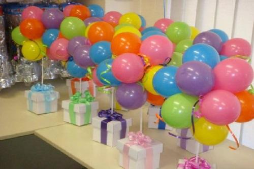 Balonlu Hediye Paketi Yapımı