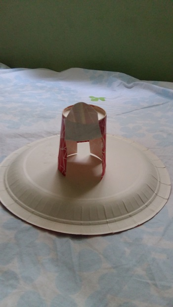 Kağıt Bardaktan Oyuncak Tabure Yapımı-1