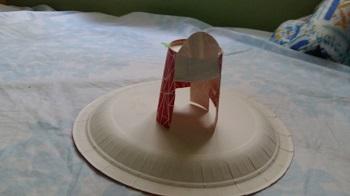 Kağıt Bardaktan Oyuncak Tabure Yapımı-2