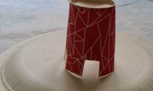 Kağıt Bardaktan Oyuncak Tabure Yapımı