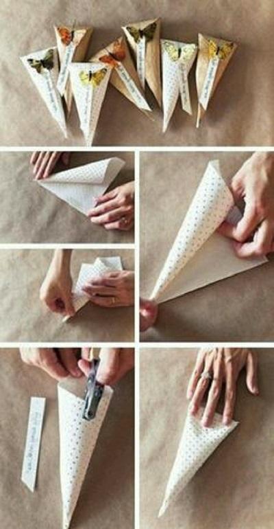 Kağıttan Nasıl Külah Yapılır