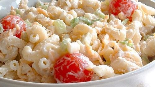 Mayonezli Makarna Salatası Nasıl Yapılır