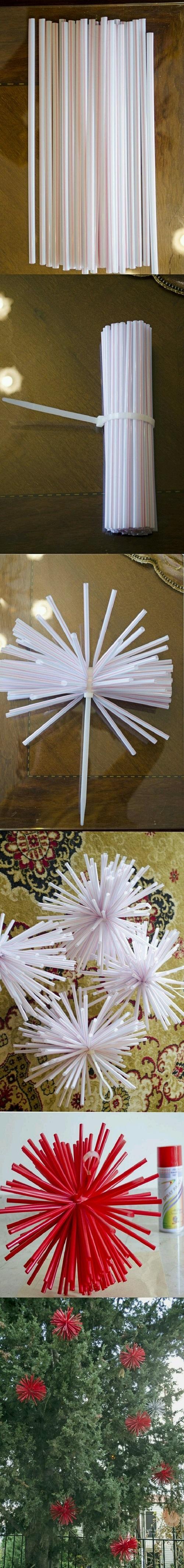 Pipetten Dekoratif Süs Yapımı