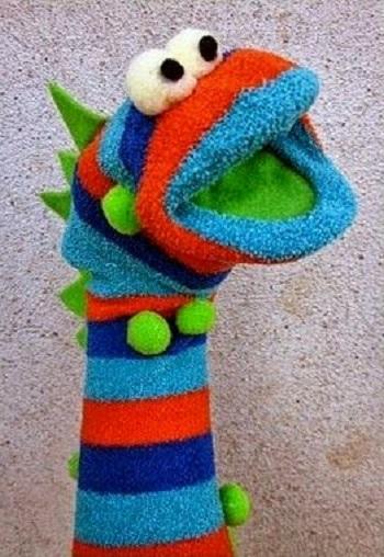 Çoraptan Kukla