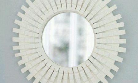 Mandaldan Ayna Çerçevesi Yapımı