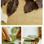 Yaprak Çikolata Yapımı