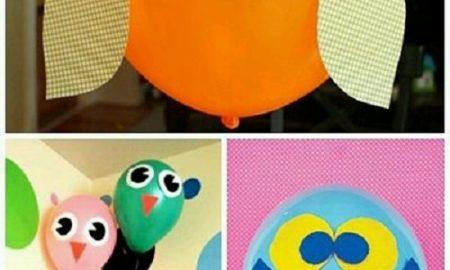 Balonla Baykuş Yapımı