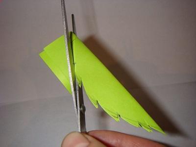 Kağıttan Yaprak Yapımı Resimli Anlatım-1