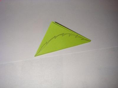 Kağıttan Yaprak Yapımı Resimli Anlatım
