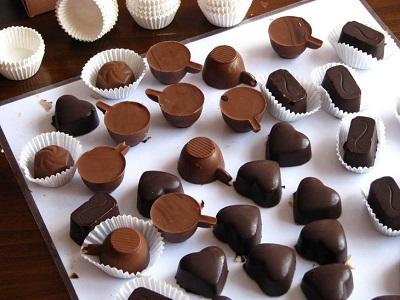 Muffin Kağıdında Çikolata