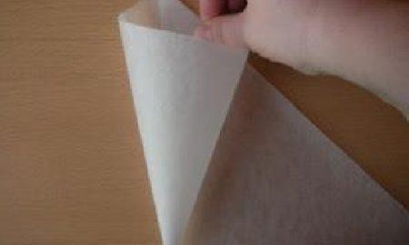 Yağlı Kağıttan Krema Sıkma Torbası Yapımı